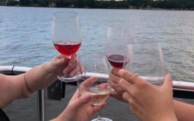 September 9, 2018:  Evening Wine Tasting Cruise